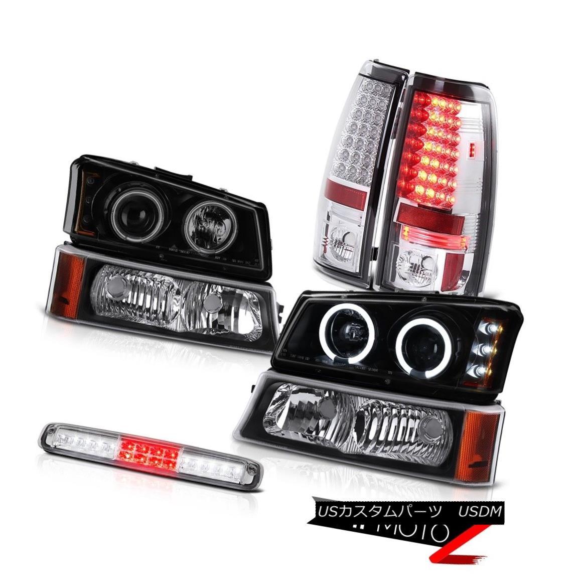 テールライト 03 04 05 06 Chevy Silverado 2500Hd Parking Light 3RD Brake Lamp Headlamps Lights 03 04 05 06 Chevy Silverado 2500Hdパーキングライト3RDブレーキランプヘッドランプ