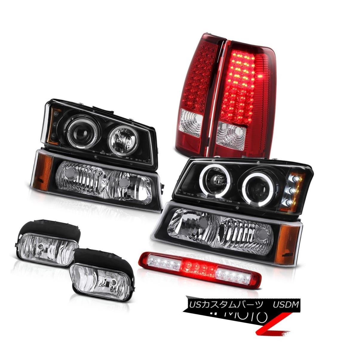 テールライト 2003-2006 Silverado 2500Hd Fog Lights Parking Lamp Roof Cab Headlamps Taillamps 2003-2006 Silverado 2500Hdフォグライトパーキングランプルーフキャブヘッドランプタイルランプ