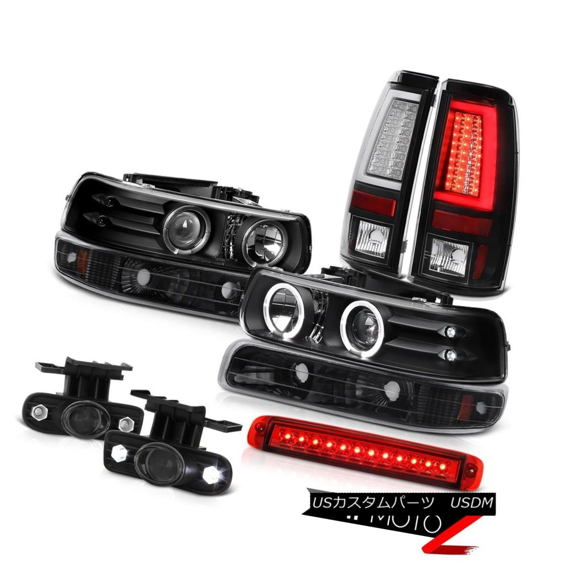 テールライト 99-02 Silverado 4.3L Taillights Roof Brake Lamp Foglights Signal Headlights LED 99-02 Silverado 4.3L灯台ルーフブレーキランプフォグライト信号ヘッドライトLED