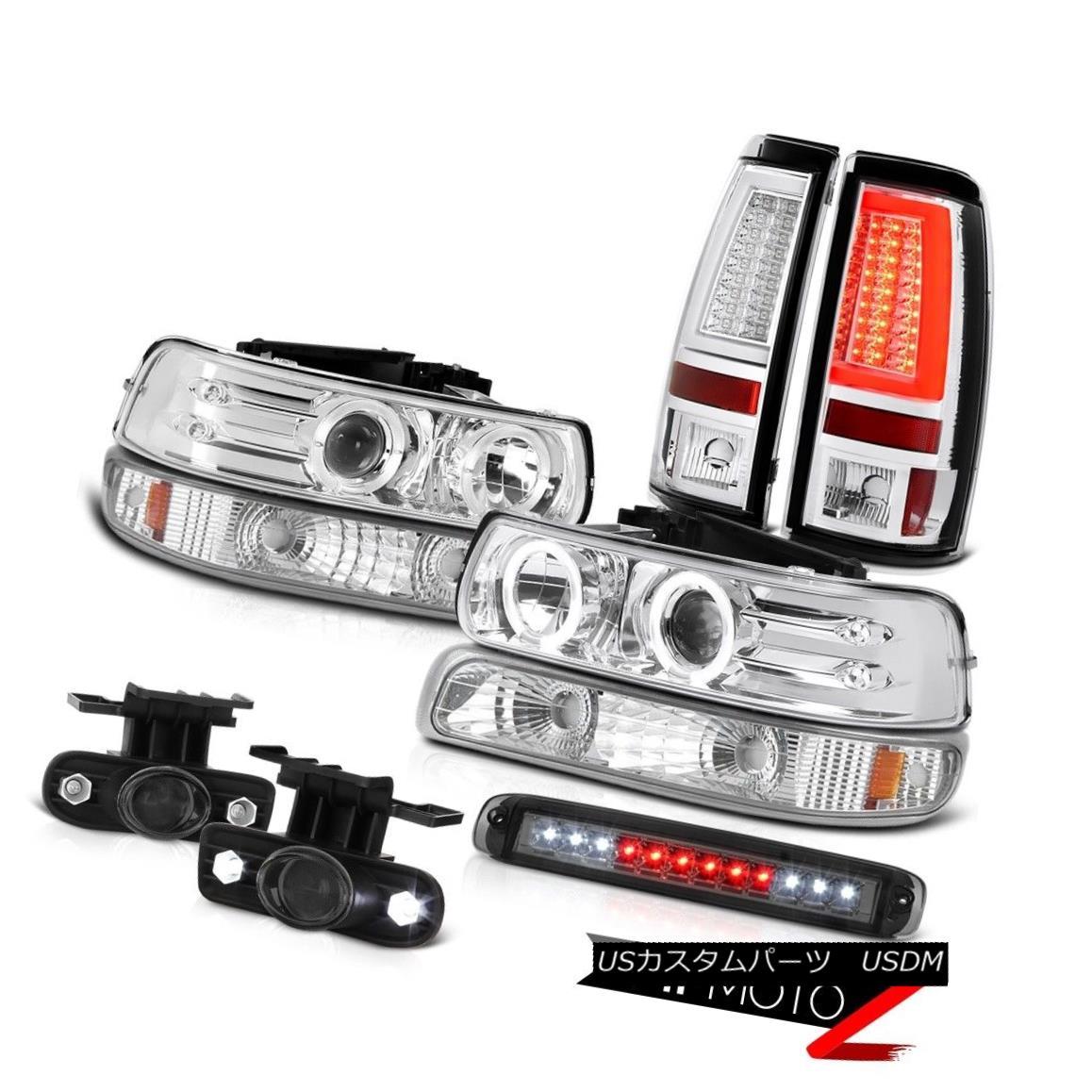 テールライト 99 00 01 02 Silverado LS Tail Lights High Stop Light Turn Signal Headlamps Fog 99 00 01 02 Silverado LSテールライトハイストップライトターンシグナルヘッドランプフォグ