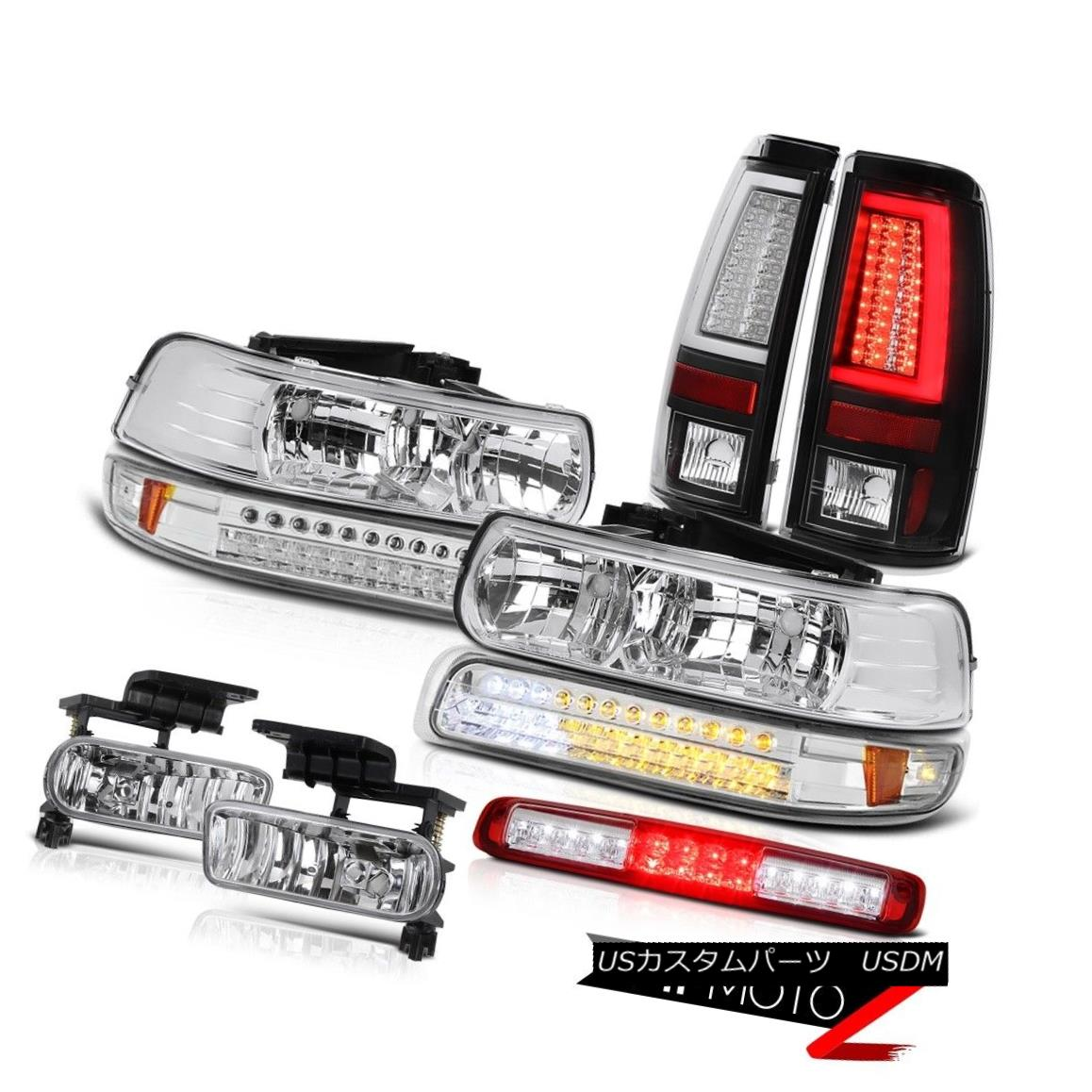 テールライト 99-02 Silverado 3500HD Taillamps Bumper Lamp Headlamps Roof Cargo Foglamps LED 99-02 Silverado 3500HD Taillampsバンパーランプヘッドランプ屋根カーゴフォグランプLED