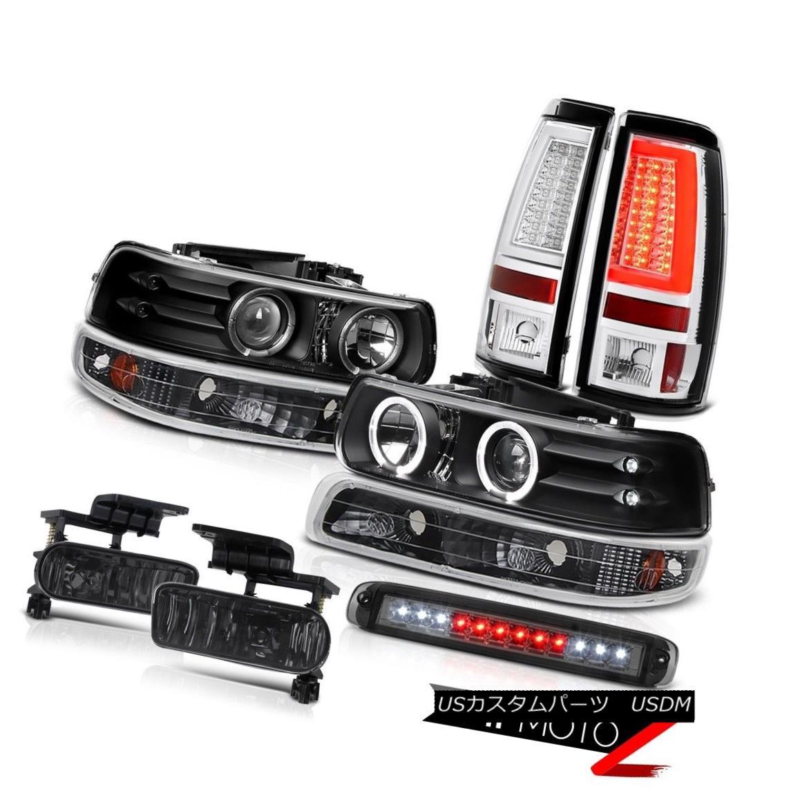 テールライト 99-02 Silverado 4.3L Tail Lamps Roof Brake Light Foglamps Bumper Headlights LED 99-02 Silverado 4.3LテールランプルーフブレーキライトフォグランプバンパーヘッドライトLED