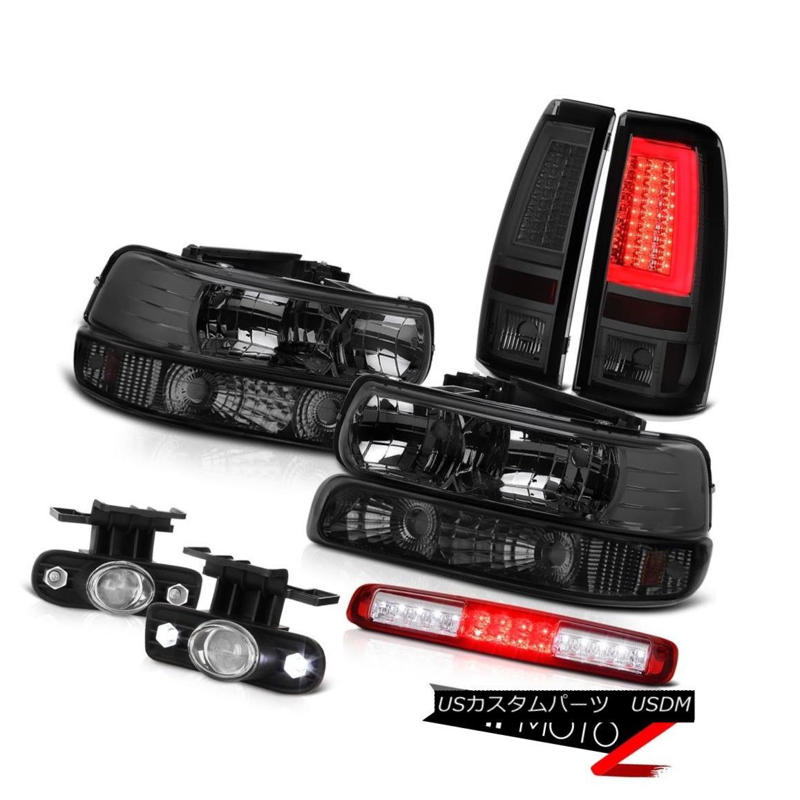 テールライト 1999-2002 Silverado 2500HD Taillights Signal Light Headlights 3rd Brake Foglamps 1999-2002 Silverado 2500HDテールライトシグナルライトヘッドライト第3ブレーキフォグランプ