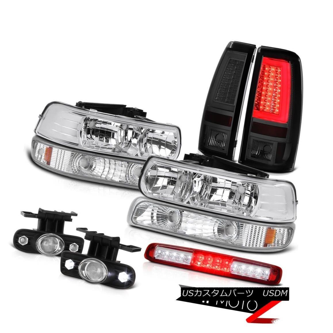 テールライト 99-02 Silverado 4WD Tail Lamps Turn Signal Headlights Roof Brake Lamp Fog Lights 99-02 Silverado 4WDテールランプターンシグナルヘッドライトルーフブレーキランプフォグライト