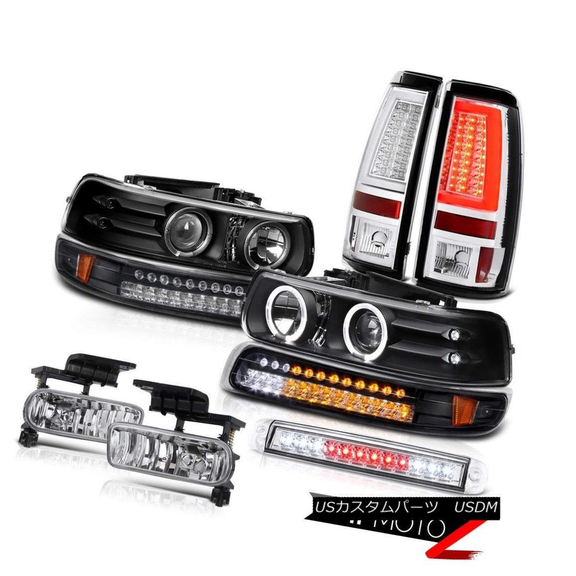 テールライト 99 00 01 02 Silverado 4.3L Taillights 3rd Brake Light Foglights Signal Headlamps 99 00 01 02 Silverado 4.3Lターンライト第3ブレーキライトフォグライトシグナルヘッドランプ