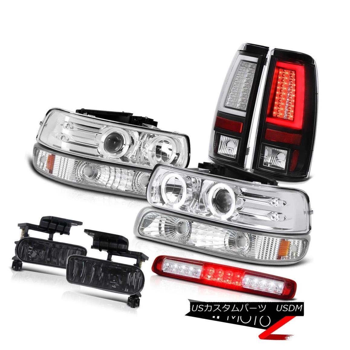 テールライト 99-02 Silverado 4.3L Taillamps Parking Lamp Headlights 3rd Brake Foglights LED 99-02 Silverado 4.3L Taillampsパーキングランプヘッドライト3rdブレーキフォグライトLED