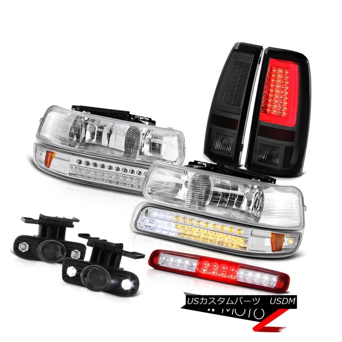 テールライト 1999-2002 Silverado LTZ Taillights Headlamps Parking Lamp Roof Cargo Foglights 1999-2002 Silverado LTZテールライトヘッドランプパーキングランプ屋根カーゴフォグライト