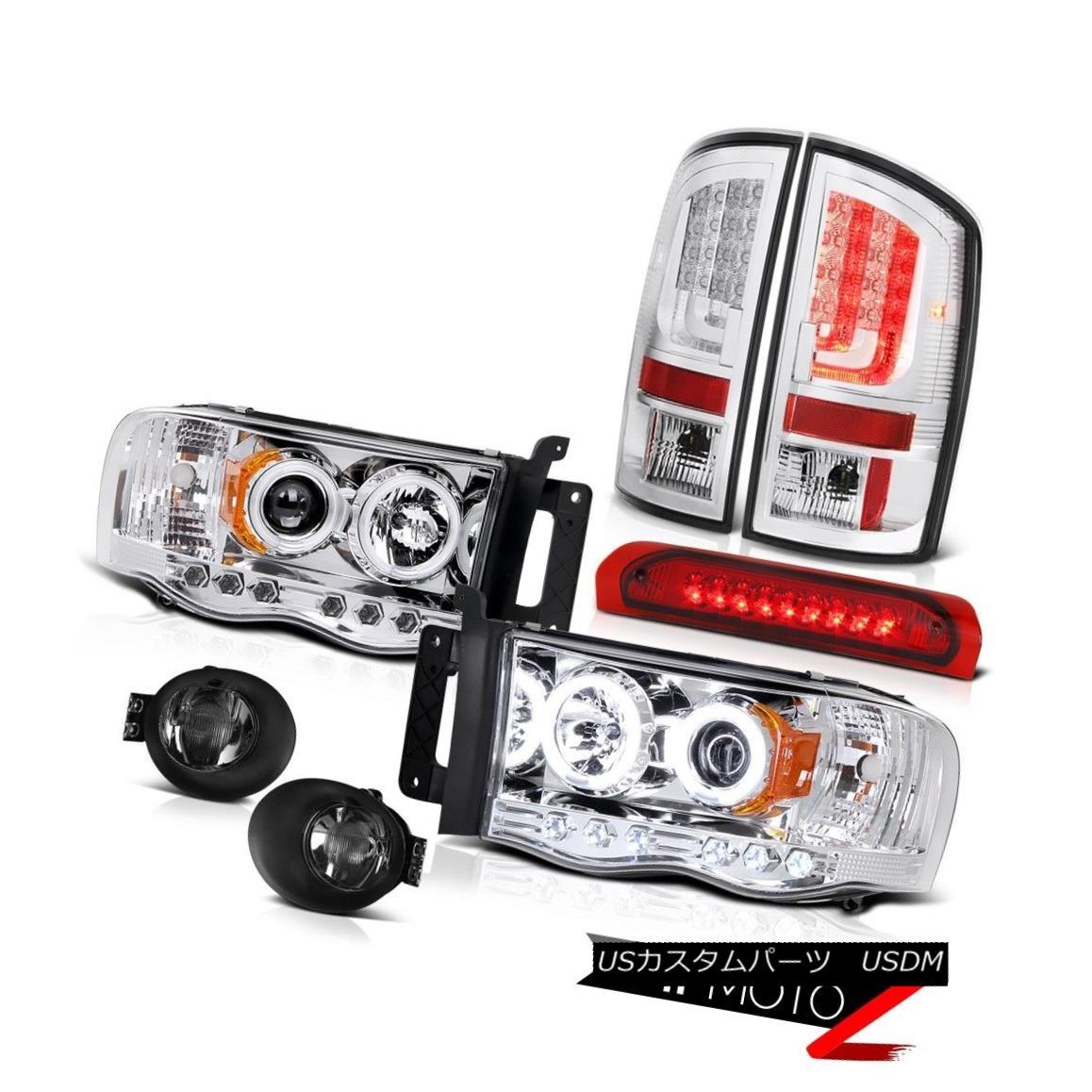 テールライト 2002-2005 Dodge Ram 1500 ST Taillights Fog Lamps Headlamps Roof Cab Light Cool 2002-2005ダッジラム1500 ST曇り曇りランプヘッドランプルーフキャブライトクール