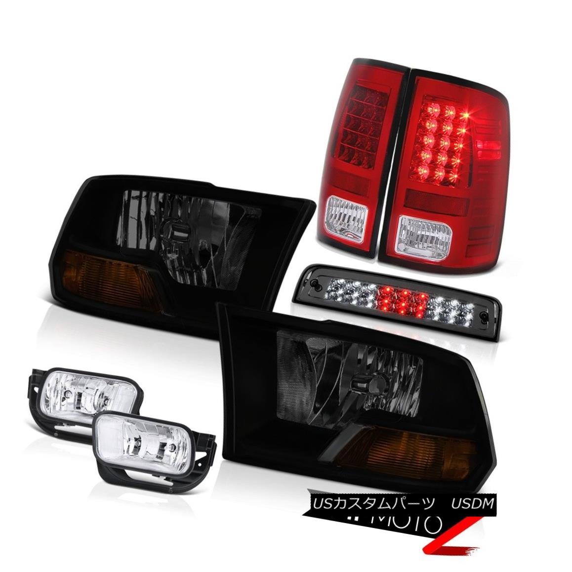 テールライト 2010-2018 Dodge Ram 2500 6.7L Fog Lamps 3RD Brake Lamp Tail Headlamps OE Style 2010-2018 Dodge Ram 2500 6.7Lフォグランプ3RDブレーキランプテールヘッドランプOEスタイル
