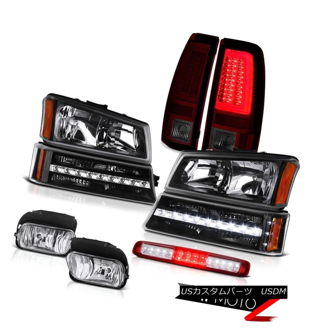 テールライト 2003-2006 Silverado Taillamps Foglamps Roof Cab Lamp Headlamps Parking Tron Tube 2003-2006 Silverado Taillamps Foglampsルーフキャブ・ランプヘッドランプパーキングTron Tube
