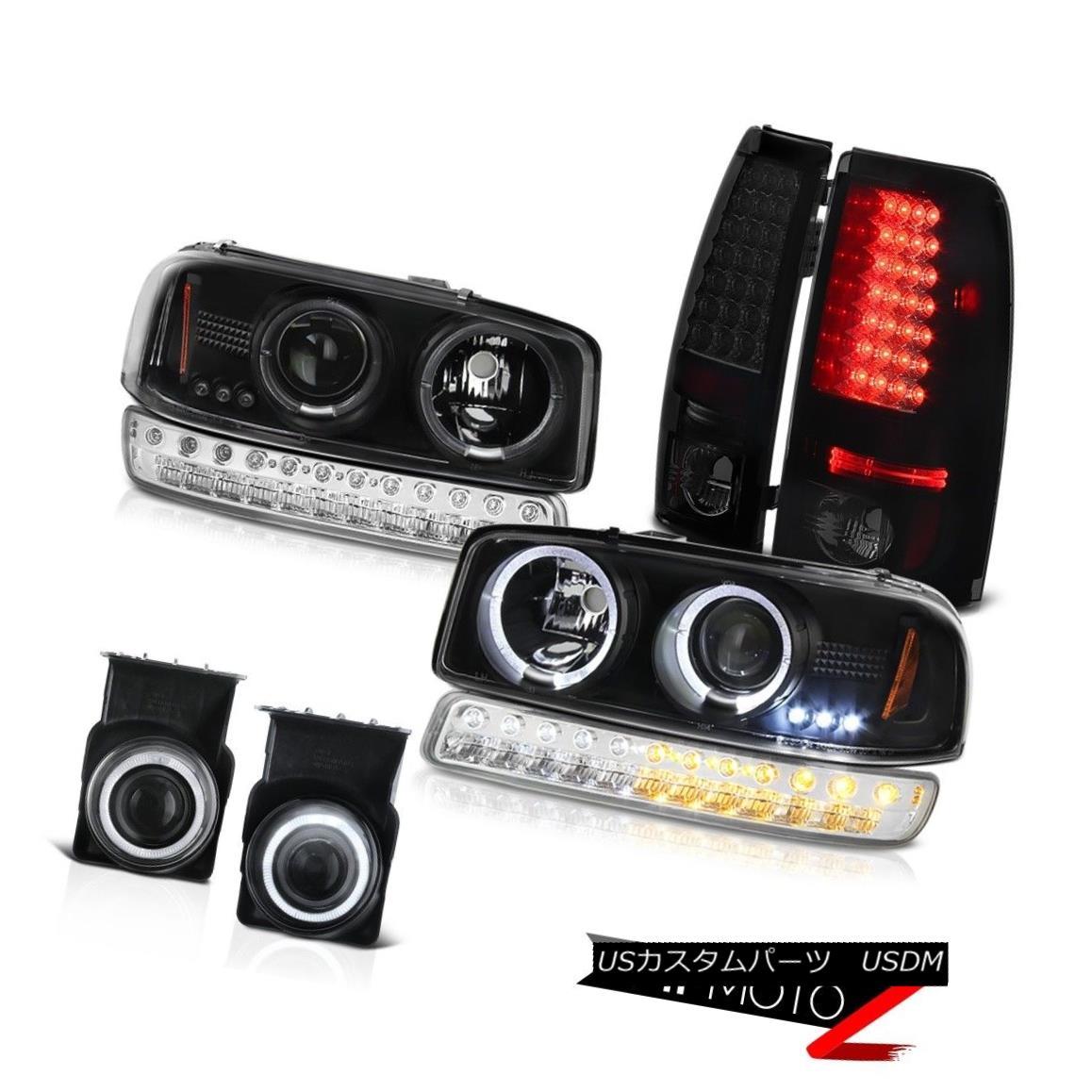 テールライト 03 04 05 06 Sierra 1500 Foglamps SMD Parking Brake Lights Turn Signal Headlamps 03 04 05 06 Sierra 1500 Foglamps SMD駐車ブレーキライトターンシグナルヘッドランプ