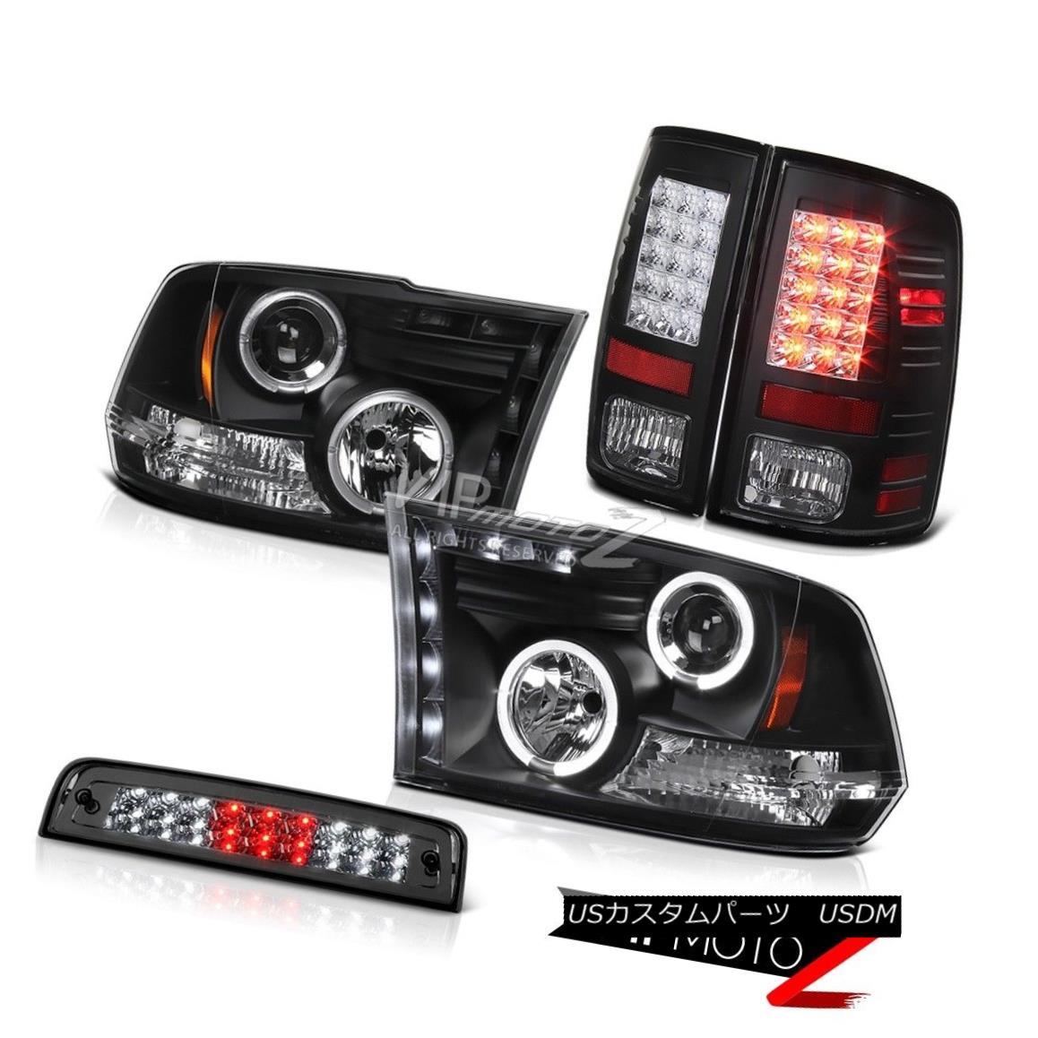 テールライト 2010-2018 Dodge Ram 1500 5.7L Smoked Third Brake Light Tail Lamps Headlights LED 2010-2018ダッジラム1500 5.7LスモークサードブレーキライトテールランプヘッドライトLED