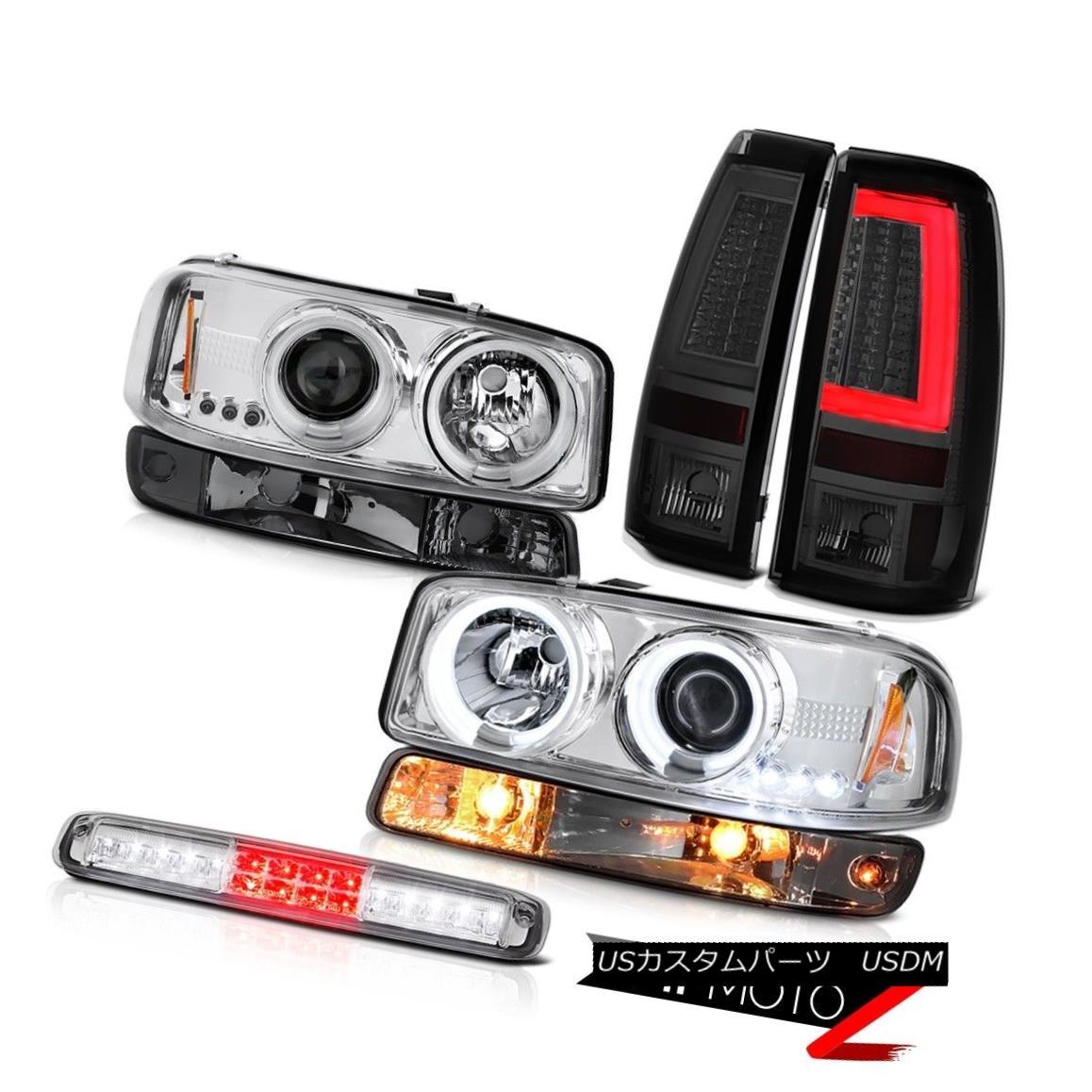 テールライト 99-06 Sierra SLE Taillamps Roof Brake Lamp Bumper Light CCFL Headlights Halo Rim 99-06 Sierra SLE Taillamps屋根用ブレーキランプバンパーライトCCFLヘッドライトHalo Rim