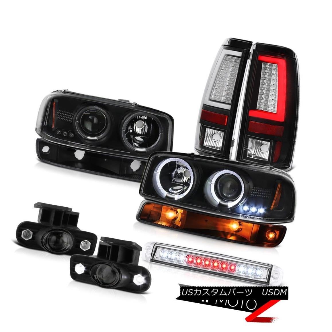 テールライト 99-02 Sierra SLE Tail Lamps Roof Cab Light Turn Signal Foglamps Headlamps LED 99-02 Sierra SLEテールランプルーフキャブライトターンシグナルフォグランプヘッドランプLED