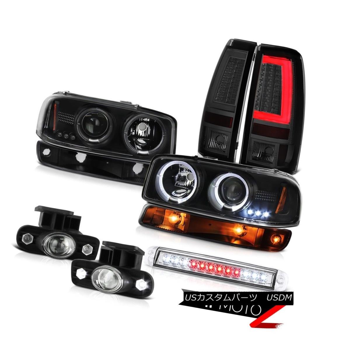 テールライト 99 00 01 02 Sierra SLt Tail Lamps Roof Brake Light Bumper Fog Lights Headlights 99 00 01 02 Sierra SLtテールランプルーフブレーキライトバンパーフォグライトヘッドライト