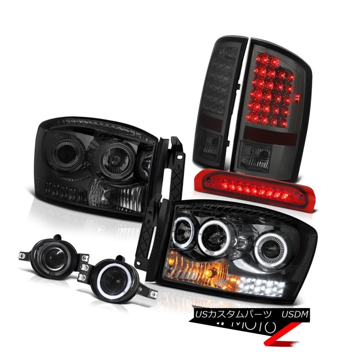 テールライト 07-08 Ram 1500 2500 3500 5.9L Headlamps Foglights Roof Cab Light Taillights LED 07-08ラム1500 2500 3500 5.9LヘッドランプフォグライトルーフキャブライトテールランプLED