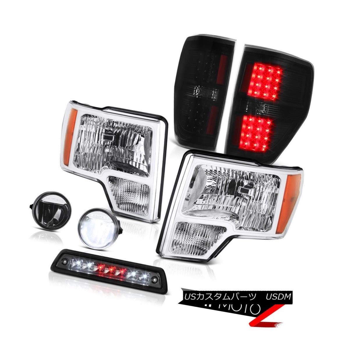 テールライト 09-14 FORD F150 XLT 3rd brake lamp fog lights rear lamps Headlights