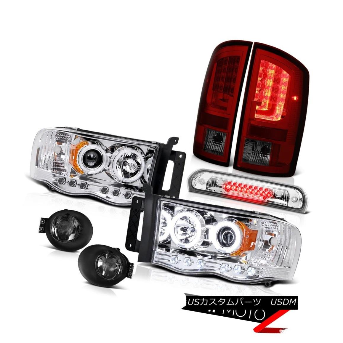 テールライト 2003-2005 Dodge Ram 2500 5.7L Tail Brake Lamps Fog Headlamps 3RD Lamp LED Cool 2003-2005 Dodge Ram 2500 5.7Lテール・ブレーキ・ランプフォグ・ヘッドランプ3RDランプLED Cool
