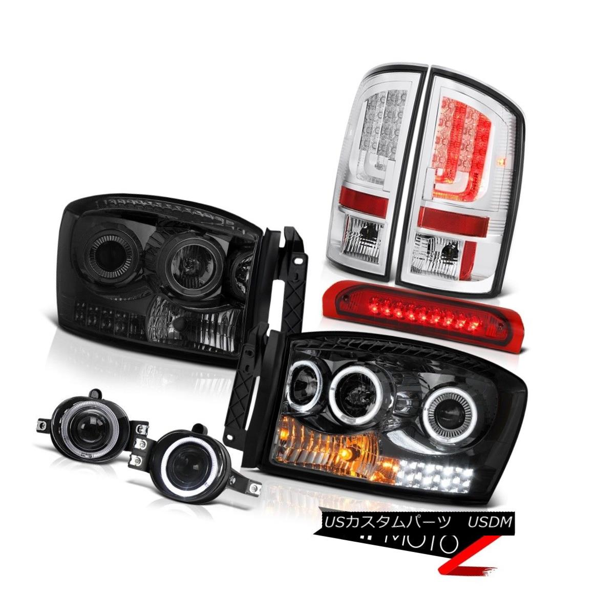 テールライト 2006 Ram ST Taillamps Headlamps Foglamps 3RD Brake Light