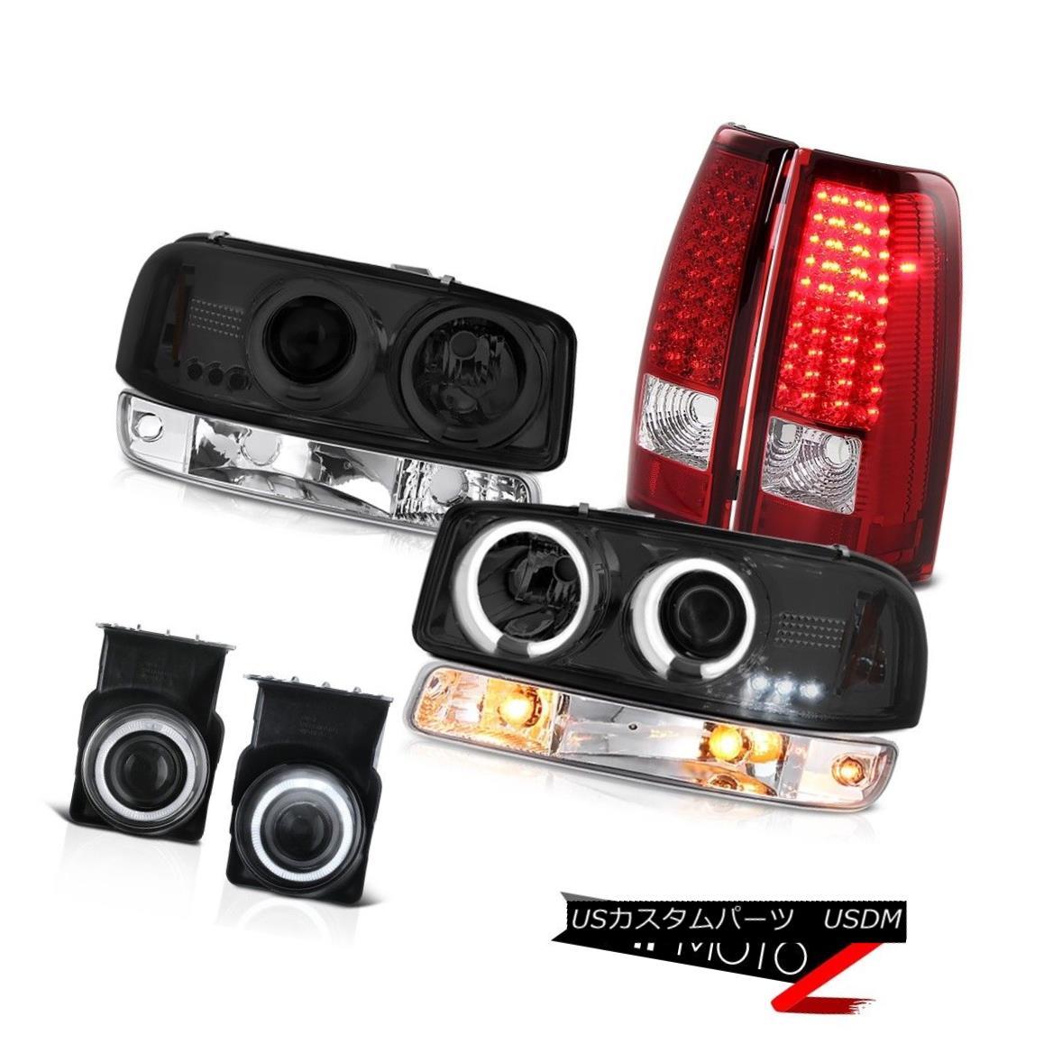 テールライト 03 04 05 06 Sierra WT Chrome fog lamps red taillamps signal light ccfl headlamps 03 04 05 06シエラWTクロームフォグランプ赤色テールランプ信号ライトccflヘッドライト