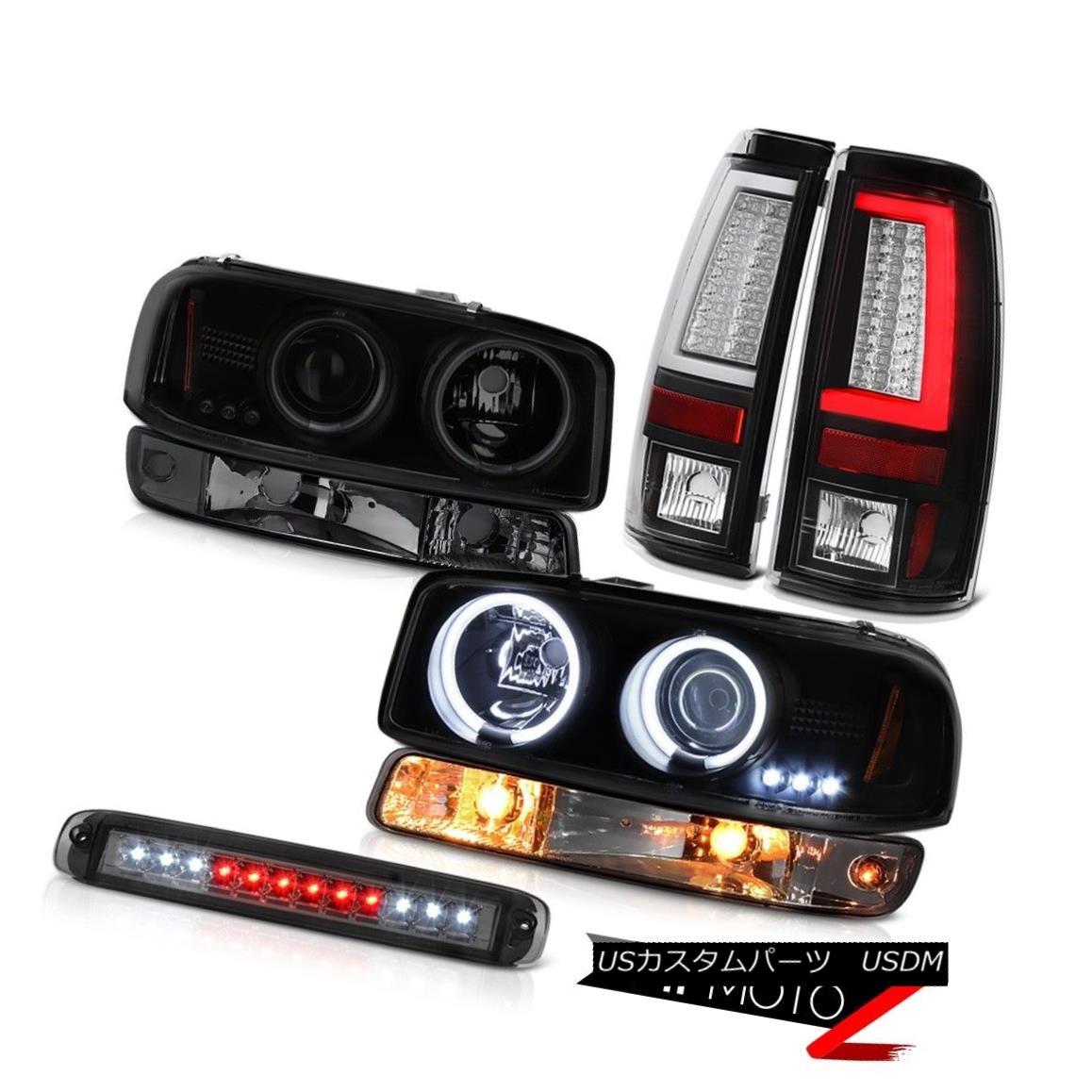 テールライト 99-06 Sierra SLE Tail Lights Roof Cab Lamp Bumper CCFL Headlights Crystal Lens 99-06シエラSLEテールライトルーフキャブランプバンパーCCFLヘッドライトクリスタルレンズ