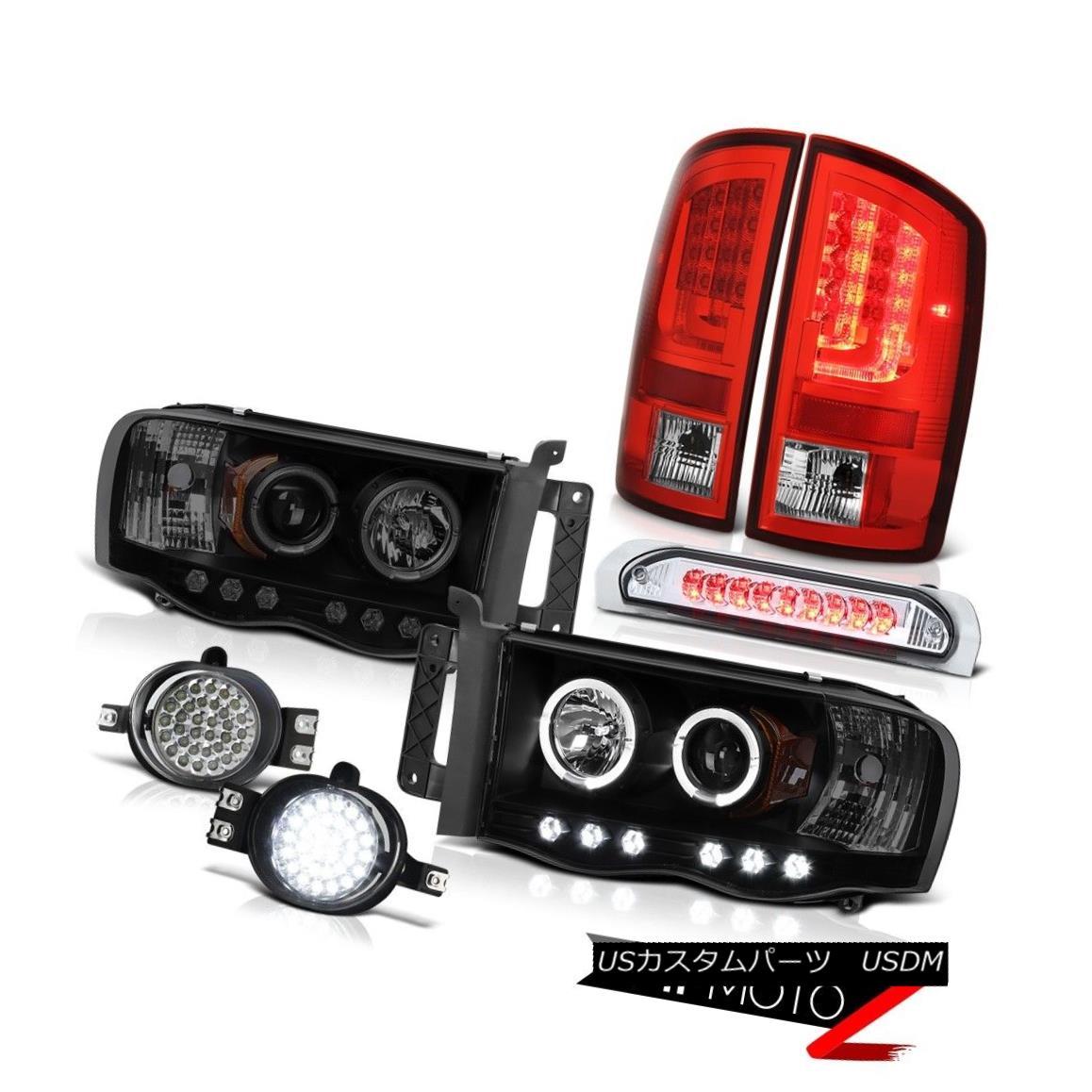 テールライト 02-05 Dodge Ram 1500 2500 ST Taillights Headlamps Foglamps 3RD Brake Lamp SMD 02-05 Dodge Ram 1500 2500 STターンライトヘッドランプフォグランプ3RDブレーキランプSMD