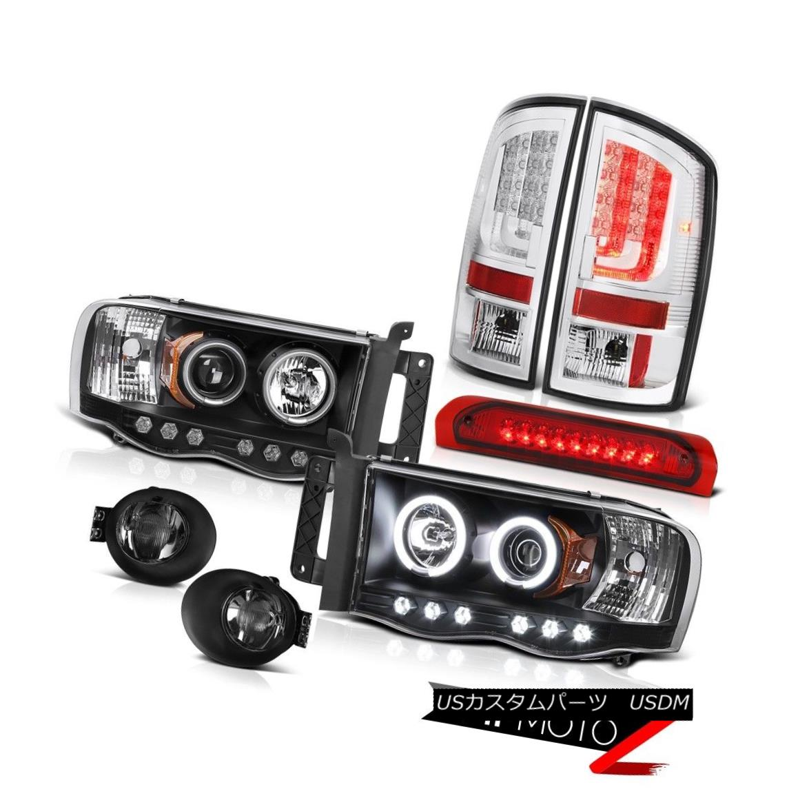 テールライト 2003-2005 Dodge Ram 2500 WS Tail Lights Fog Headlights 3RD Brake Light NeweST 2003-2005 Dodge Ram 2500 WSテールライトフォグヘッドライト3RDブレーキライトNeweST