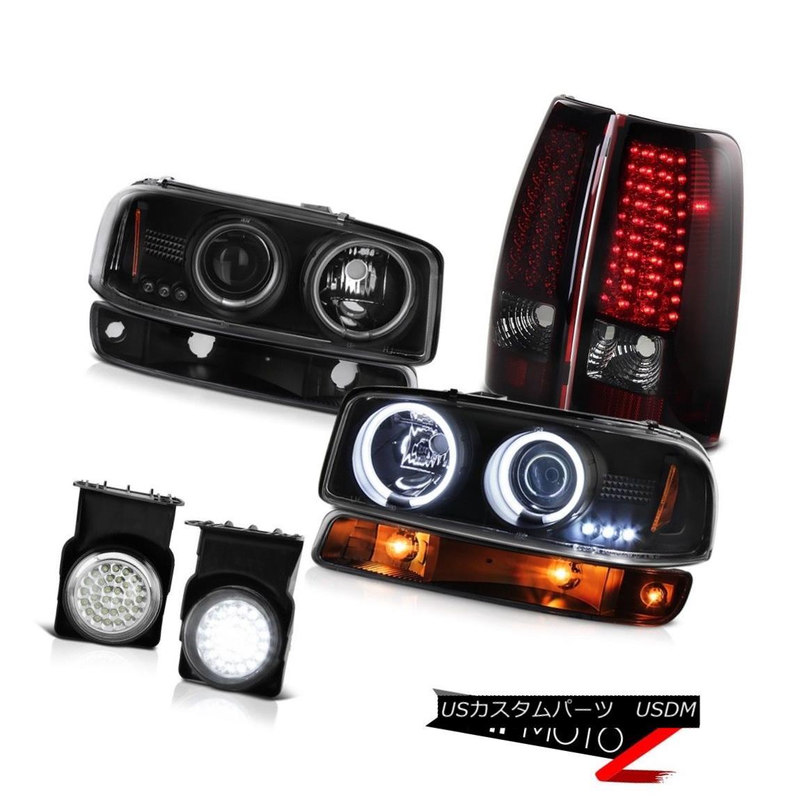テールライト 03-06 Sierra WT Euro clear fog lamps smd taillights bumper light ccfl headlights 03-06シエラWTユーロクリアフォグランプsmdテールライトバンパーライトccflヘッドライト