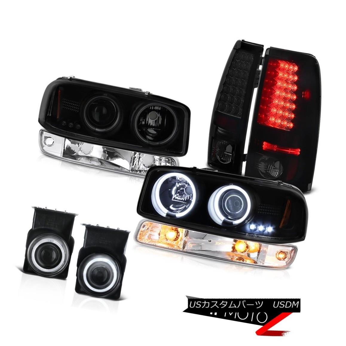テールライト 03 04 05 06 GMC Sierra Fog lamps led tail brake parking lamp ccfl Headlamps LED 03 04 05 06 GMC Sierraフォグランプはテールブレーキパーキングランプを導いたccflヘッドランプLED
