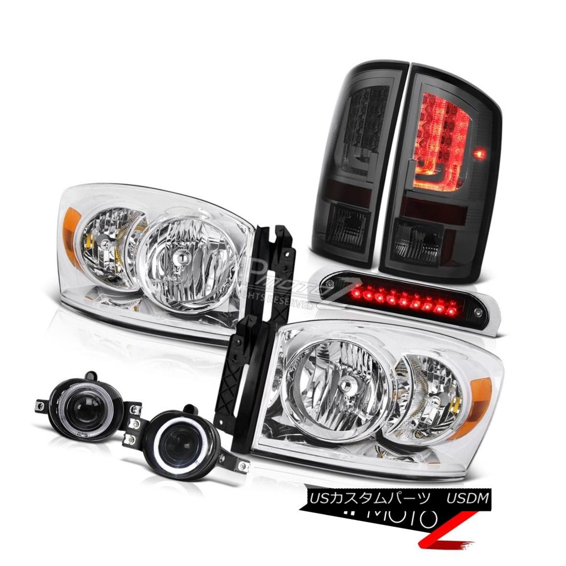 テールライト 2006 Ram ST Smokey Taillamps Third Brake Lamp Headlights Fog Lights Light Bar 2006 Ram ST Smokey Taillamps第3ブレーキランプヘッドライトフォグライトライトバー
