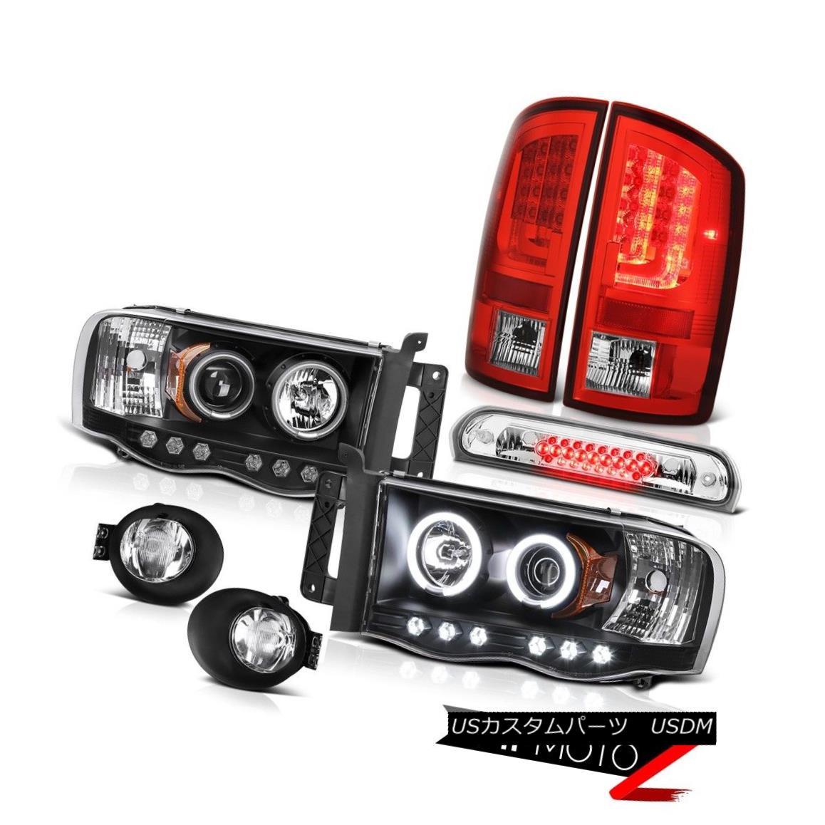 テールライト 02-05 Ram 1500 2500 3500 ST Red Tail Lamps Foglamps Headlights Roof Brake Lamp 02-05 Ram 1500 2500 3500 STレッドテールランプフォグランプヘッドライトルーフブレーキランプ