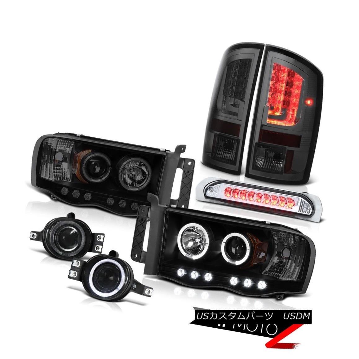 テールライト 2002-2005 Dodge Ram 1500 SLT Taillamps Headlights Fog Lights High STop Lamp LED 2002-2005ダッジラム1500 SLTタイルランプヘッドライトフォグライトハイSTOPランプLED