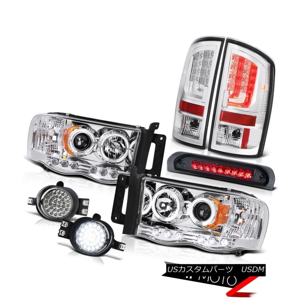テールライト 02-05 Ram 1500 2500 3500 WS Taillights Headlights Foglamps Roof Brake Light LED 02-05 Ram 1500 2500 3500 WS幼児用ヘッドライトフォグランプルーフブレーキライトLED