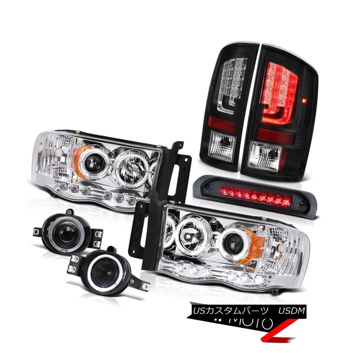 テールライト 2003-2005 Dodge Ram 1500 3.7L Tail Lamps Headlights Fog High STop Lamp Neon Tube 2003-2005ダッジラム1500 3.7LテールランプヘッドライトフォグハイSTopランプネオンチューブ