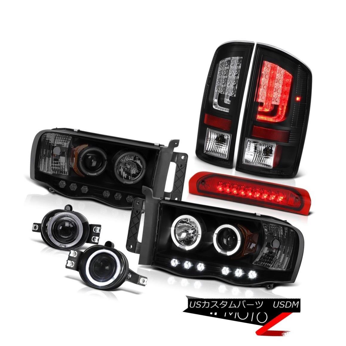 テールライト 02-05 Dodge Ram 1500 2500 Turbodiesel Tail Lights Headlights Fog Roof Cab Lamp 02-05 Dodge Ram 1500 2500 Turbodieselテールライトヘッドライトフォグルーフキャブランプ