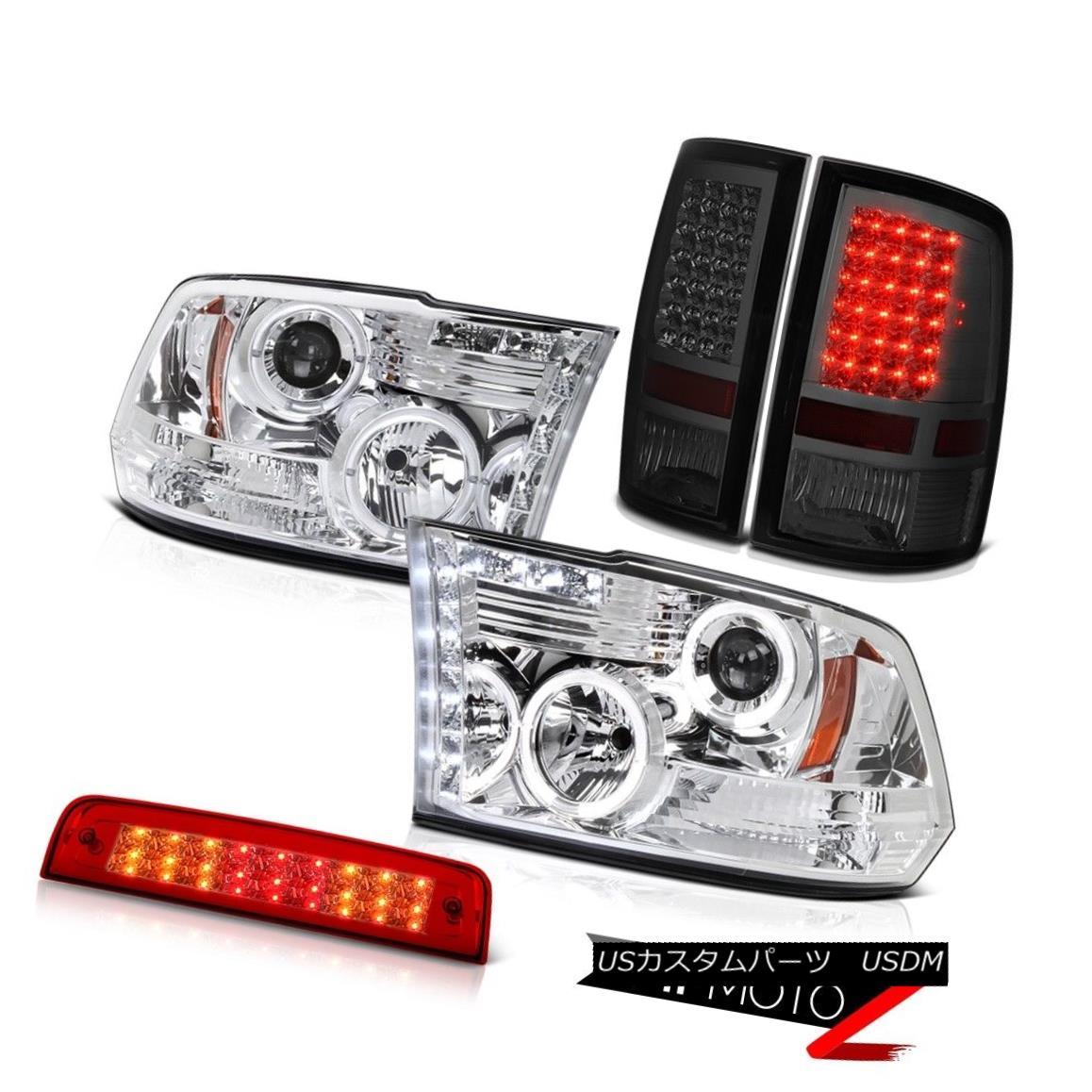 テールライト 09-18 Ram 1500 2500 3500 Lone Star 3RD Brake Light Parking Lights Headlights SMD 09-18 Ram 1500 2500 3500ローンスター3RDブレーキライトパーキングライトヘッドライトSMD