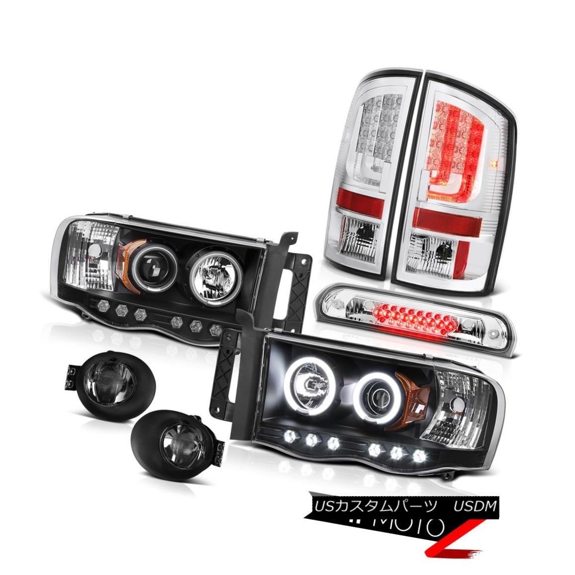 テールライト 02-05 Ram 1500 2500 3500 5.9L Tail Lights Foglights Headlamps Roof Brake Lamp 02-05 Ram 1500 2500 3500 5.9Lテールライトフォグライトヘッドランプルーフブレーキランプ