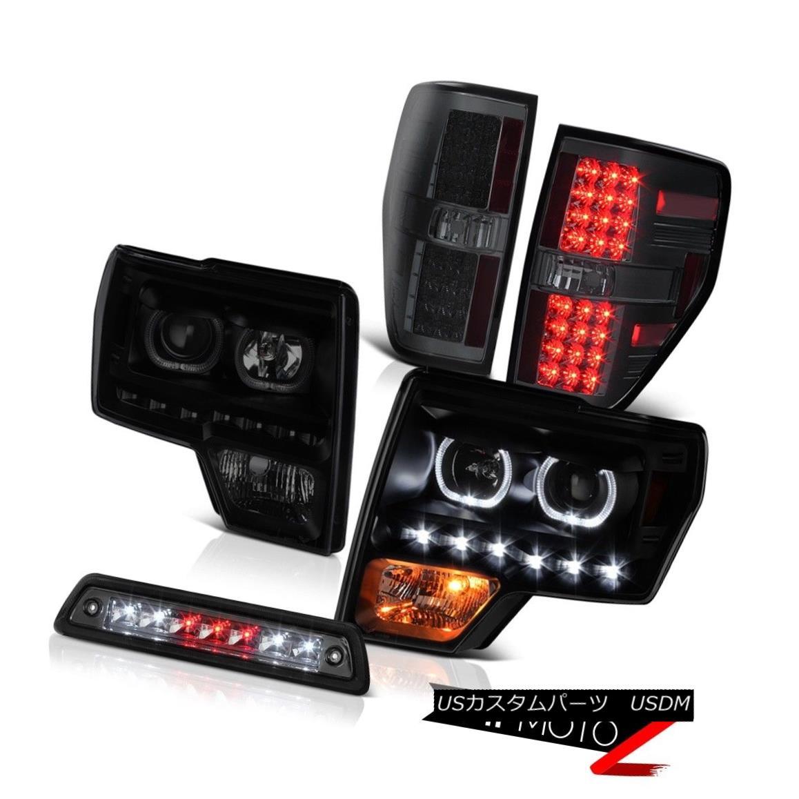 テールライト 2009-2014 FORD 150 5.4L Roof brake light taillights headlights