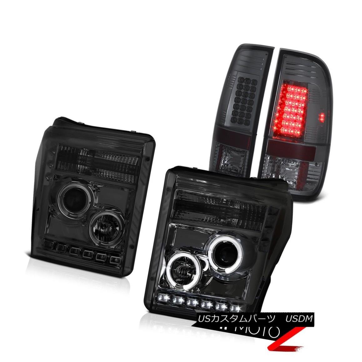 テールライト 11 12 13 14 15 16 F250 Xlt Titanium Smoke Taillights Headlamps SMD