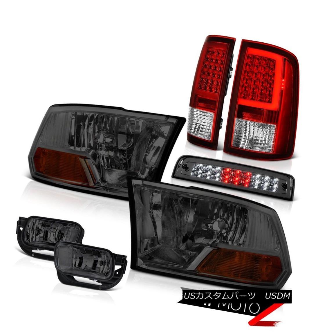 テールライト 09-18 Dodge RAM 2500 3500 Tail Lights Fog Light Brake Factory Style Headlight 09-18 Dodge RAM 2500 3500テールライトフォグライトブレーキ工場スタイルヘッドライト