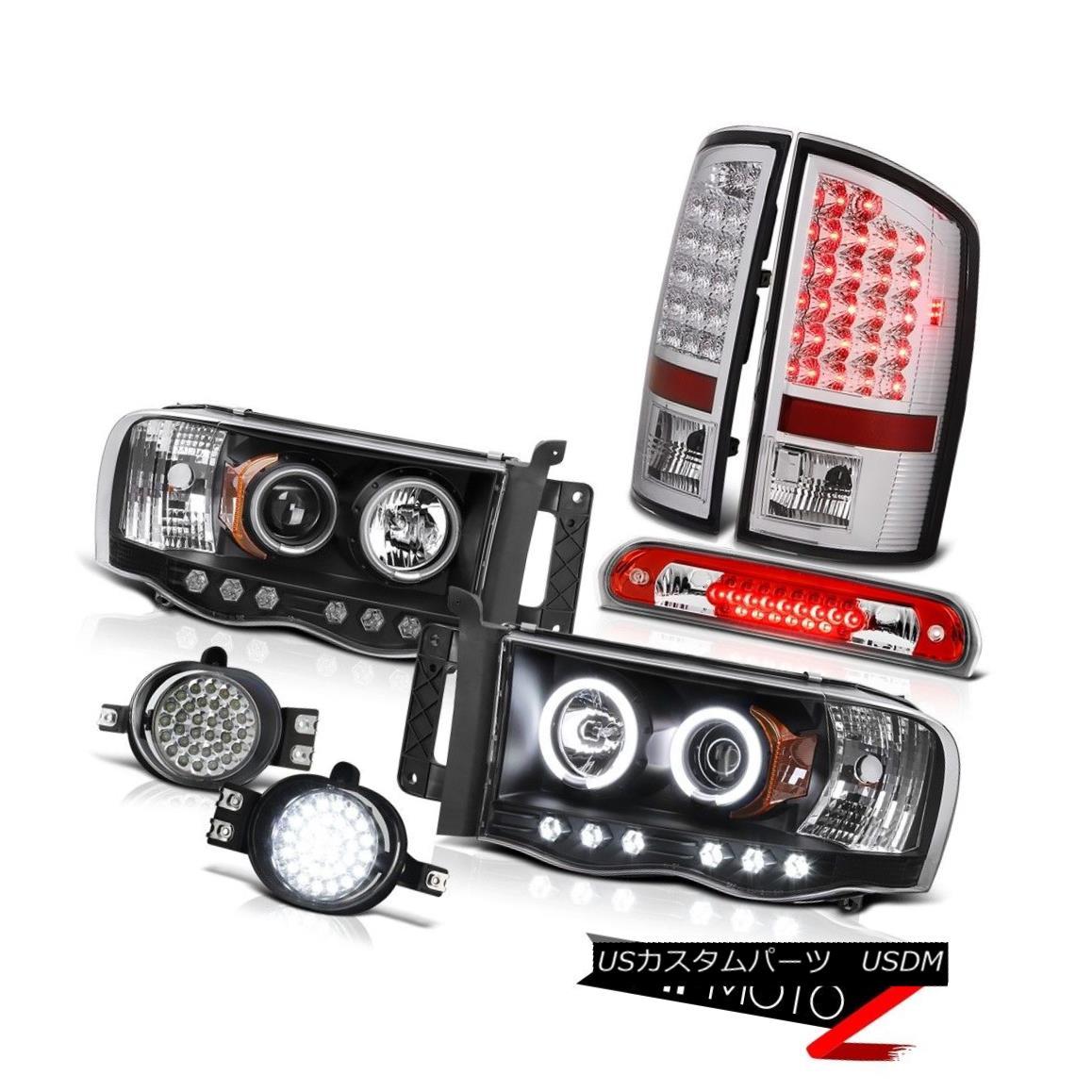 高級感 テールライト 2002-05 Ram 2002-05 2500 2500 CCFL テールライト Halo Headlights LED Tail Lights Surface Fog High Stop Red 2002-05 Ram 2500 CCFL HaloヘッドライトLEDテールライト表面フォグハイストップレッド, KULALASHOP:3bdcd0fc --- esef.localized.me