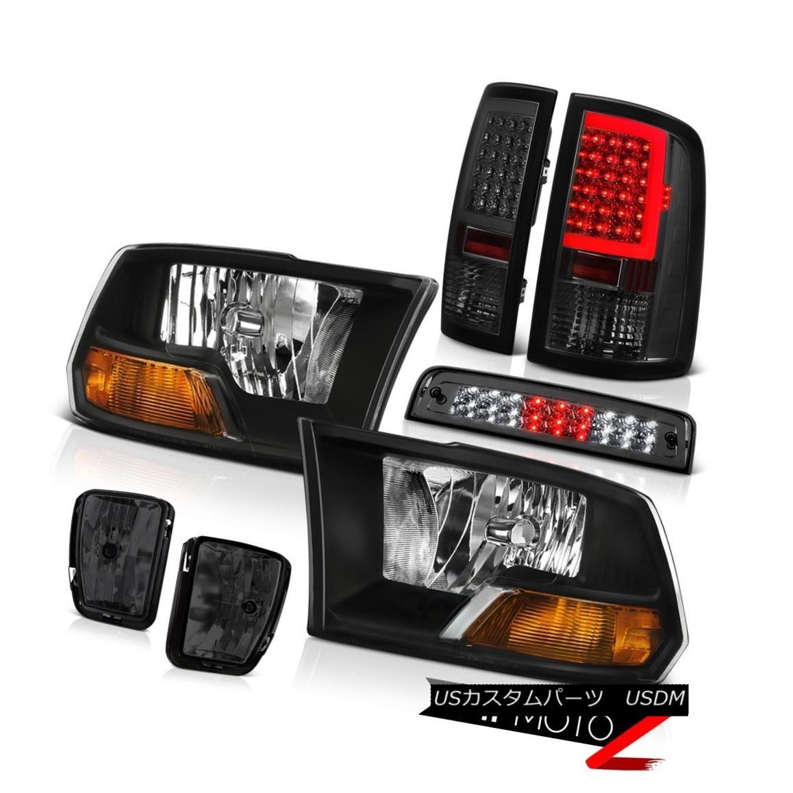 値引きする テールライト 13-18 Dodge Factory RAM 1500 Smoked Tail Lamps Tail Fog Headlamp Lights Brake Factory Style Headlamp 13-18ダッジRAM 1500スモークテールランプフォグライトブレーキ工場スタイルヘッドライト, MUK ONLINE SHOP:af95f5a8 --- esef.localized.me