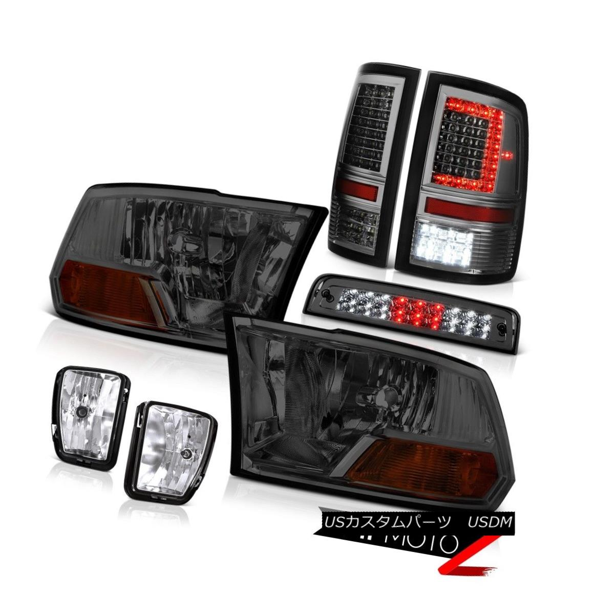 テールライト 13-18 Dodge RAM 1500 Tail Lamp Brake Lights Fog Lamps Factory Style Headlight 13-18ダッジRAM 1500テールランプブレーキライトフォグランプ工場スタイルヘッドライト