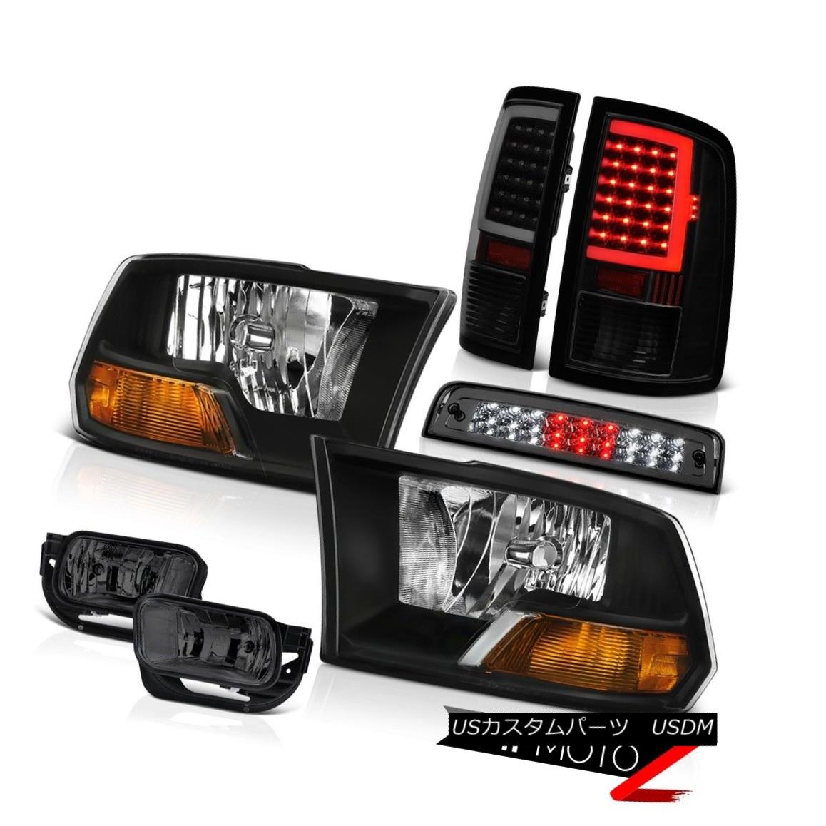 テールライト 09-11 12 13 Dodge RAM 1500 Tail Lights Fog Light Brake Factory Style Headlamps 09-11 12 13ダッジRAM 1500テールライトフォグライトブレーキ工場スタイルヘッドライト