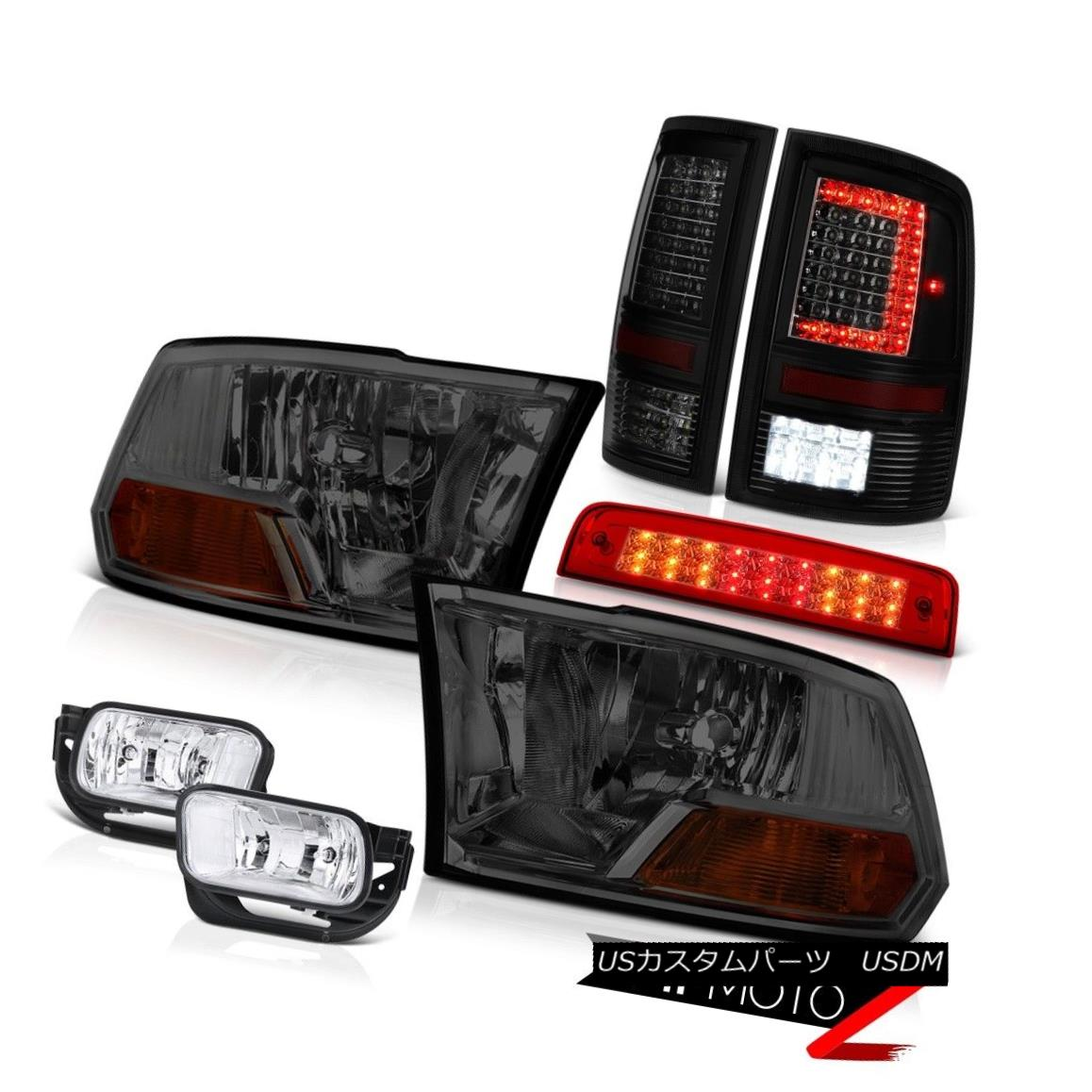 テールライト 09-18 Dodge RAM 2500 Tail Lights Brake Light Fog Lamps Factory Style Headlamp 09-18ダッジRAM 2500テールライトブレーキライトフォグランプ工場スタイルヘッドライト