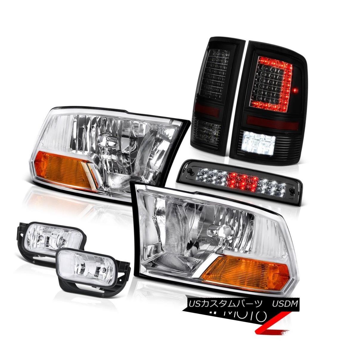 テールライト 2009-2013 Dodge RAM 1500 Tail Lamp Driving Light Brake Factory Style Headlamp 2009-2013ダッジRAM 1500テールランプライト・ライト・ブレーキ工場スタイルヘッドライト