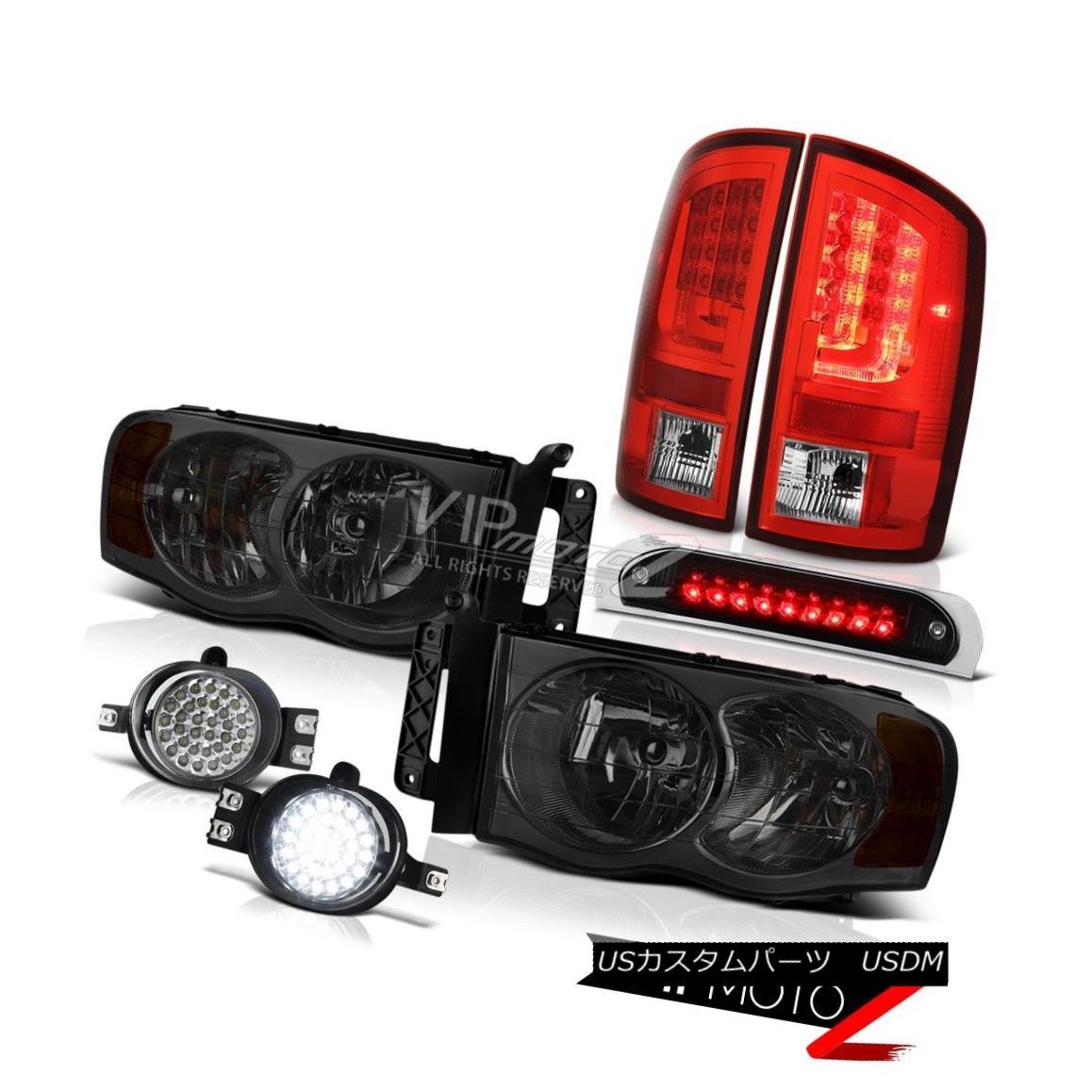 テールライト 02-05 Ram 1500 2500 3500 5.9L Taillamps Roof Cab Light Headlamps Fog Lamps LED 02-05 Ram 1500 2500 3500 5.9LタイルランプルーフキャブライトヘッドランプフォグランプLED