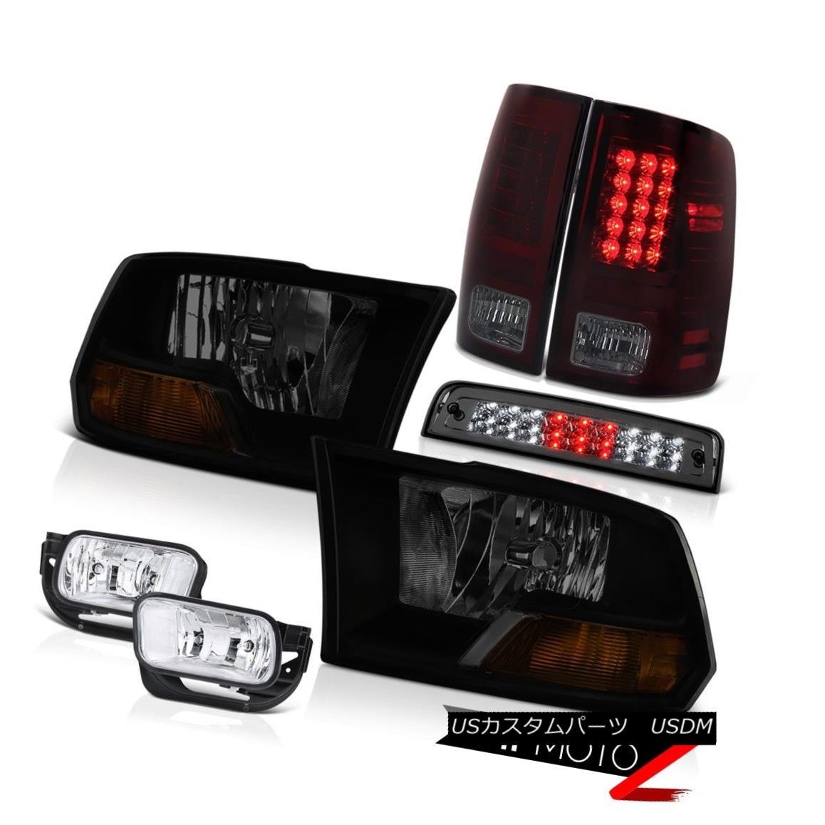 テールライト 2010-2018 Dodge Ram 3500 5.7L Fog Lamps High Stop Lamp Tail Headlamps LED SMD 2010-2018 Dodge Ram 3500 5.7LフォグランプハイストップランプテールヘッドランプLED SMD