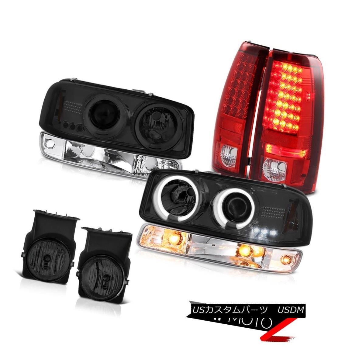 テールライト 03 04 05 06 Sierra SLE Fog lights tail clear chrome bumper lamp ccfl Headlights 03 04 05 06シエラSLEフォグライトテールクリアクロムバンパーランプccflヘッドライト