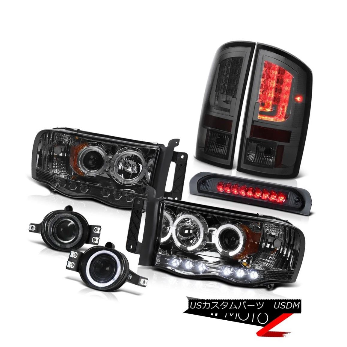 テールライト 2003-2005 Dodge Ram 3500 ST Tail Lights Headlamps Fog 3RD Brake Lamp